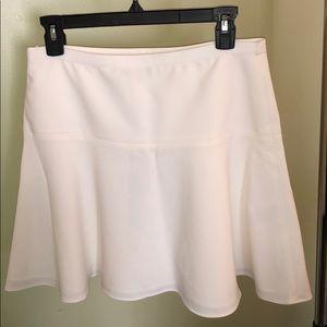 White BCBG skirt